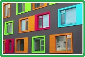 Окрашивание пластикового окна в домашних условиях