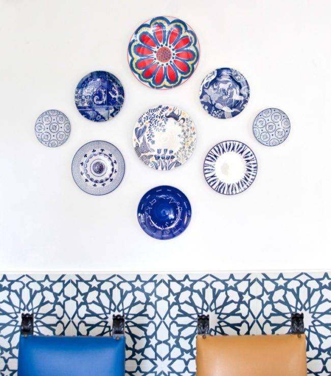 Как украсить стену своими руками, принципы, изготовление декора