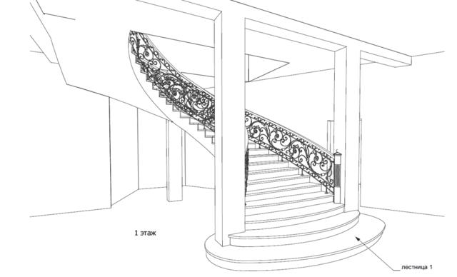 3d расчет винтовой лестницы - онлайн калькулятор | perpendicular.pro
