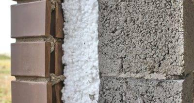 Утепление стен керамзитобетонного дома