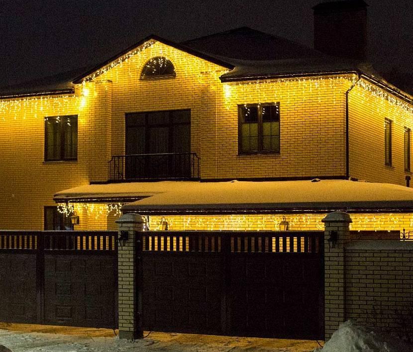 Способы освещения фасадов зданий