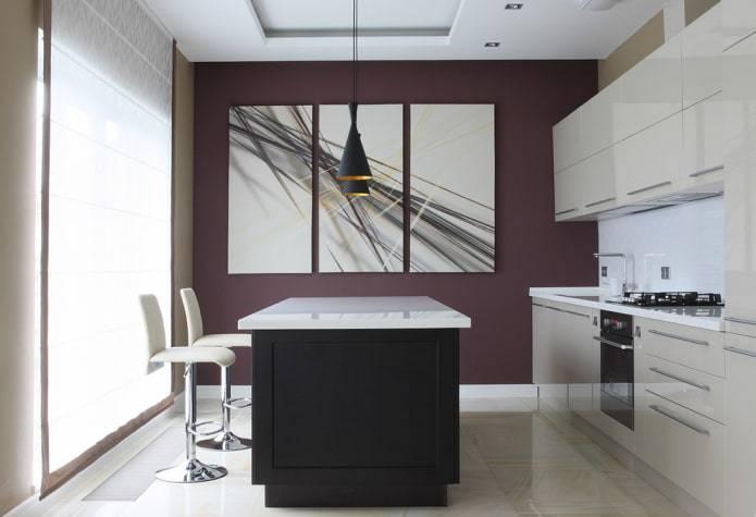 Варианты отделки стен на кухне: какие отделочные материалы лучше для кухни
