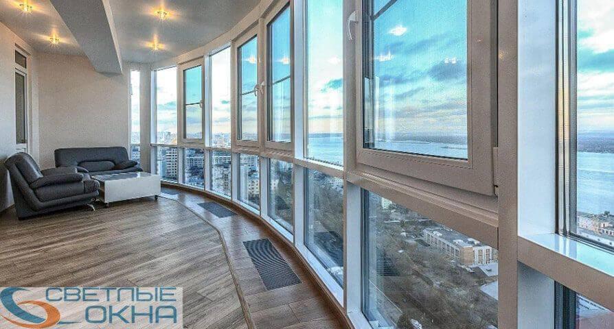 Французские окна для частных домов и квартир