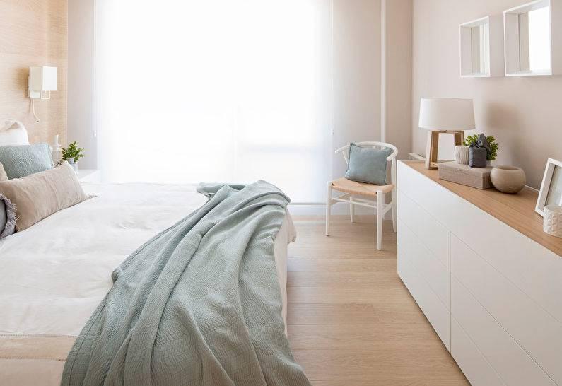 Великолепная спальня в скандинавском стиле: красота на 60 фото