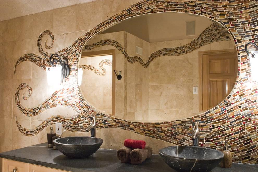 55 арт идей мозаики своими руками в саду и в интерьере