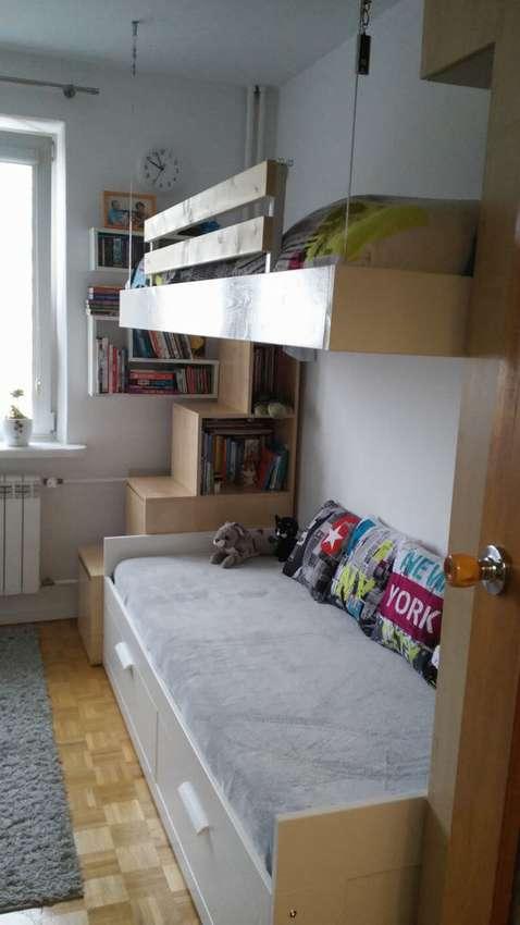 Подвесная кровать - 105 фото современных решений и рекомендации по их монтажу