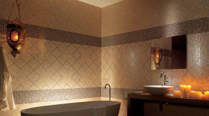 Мозаика из керамогранита: мозаичная керамогранитная плитка под дерево, плюсы и минусы материала, примеры использования в интерьере