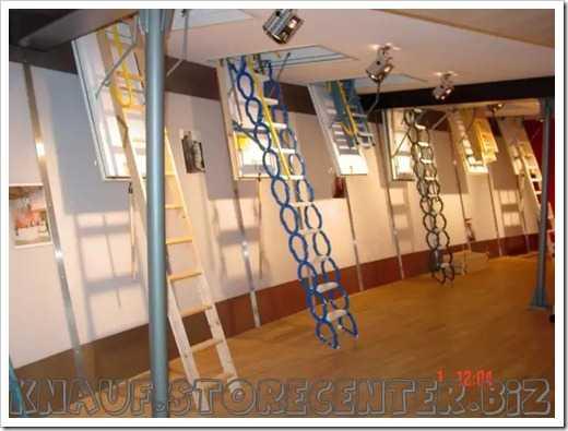 Установка чердачной лестницы: как установить лестницу на чердак своими руками