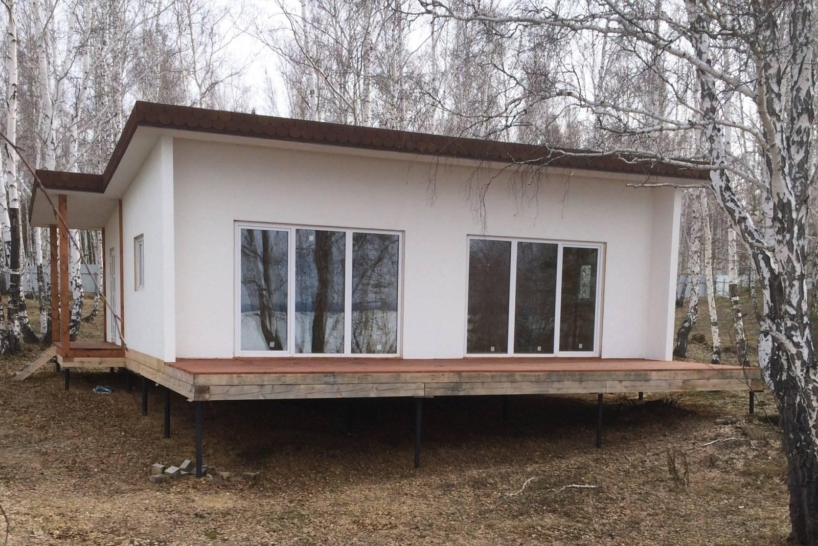 Отделка дома из сип панелей снаружи - подробный обзор