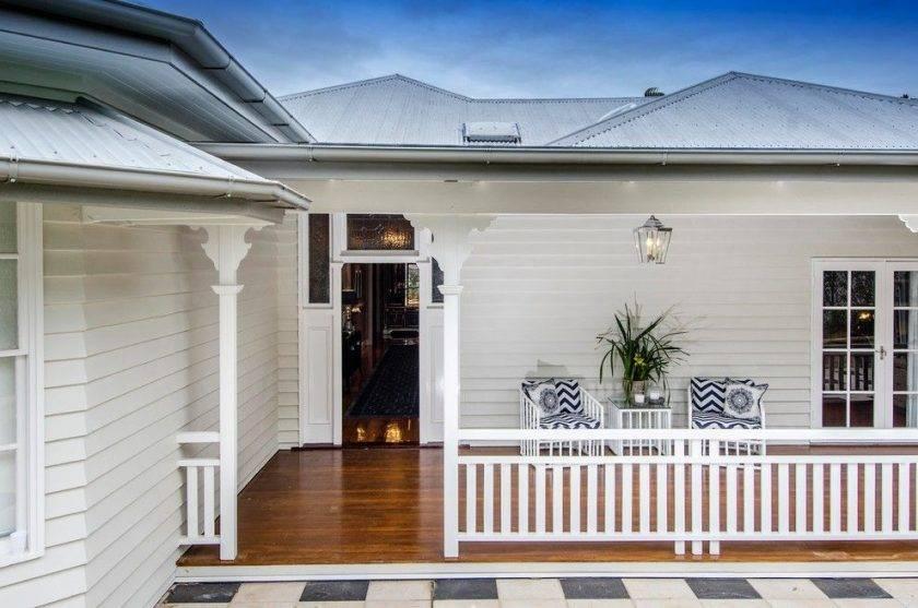 Проект одноэтажного дома с террасой: современные идеи