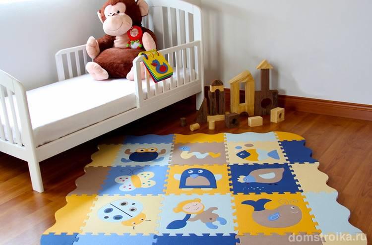 Мягкое модульное покрытие для детских (мягкий пол)