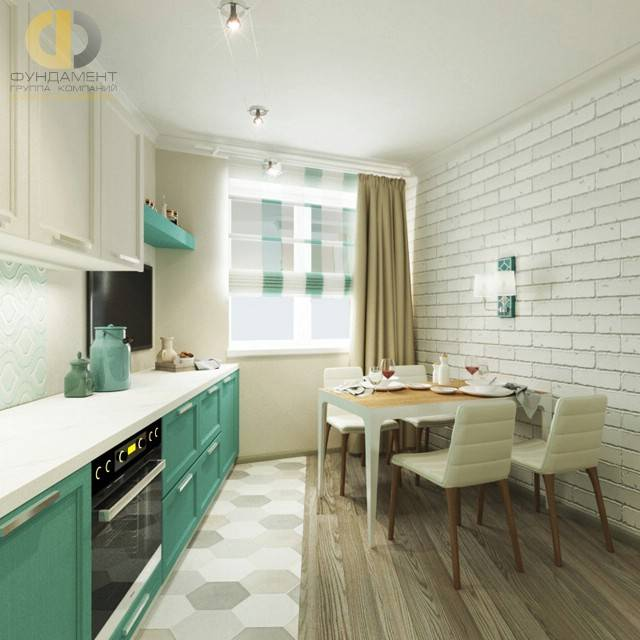 Кухня 9 кв. метров - дизайн-проект, обзор лучших вариантов!