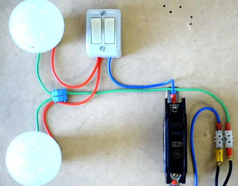 Как подключить двойной выключатель света: советы и возможные ошибки