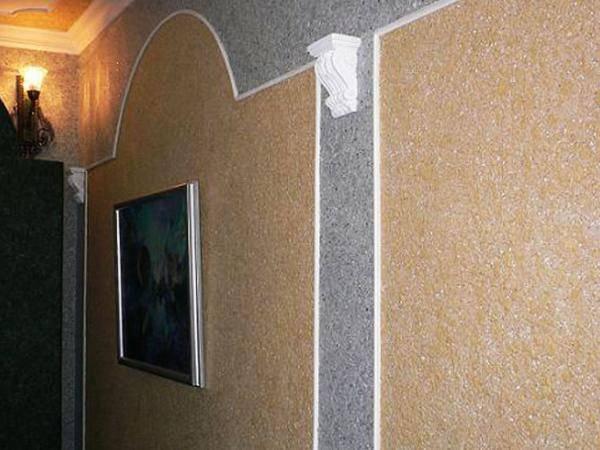 Декоративное покрытие шелк: состав материала, основные преимущества и недостатки, создание мокрого эффекта