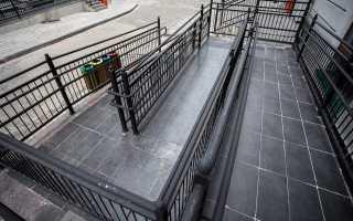 Уклон пандуса для инвалидов: нормы, требования