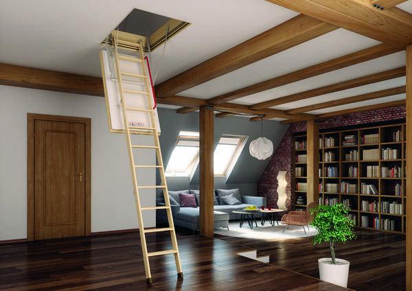 Лучшие чердачные лестницы — советы как выбрать дизайн для простых и красивых моделей. советы по выбору размеров и форм (85 фото и видео)