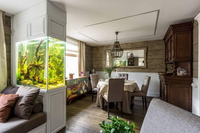 Обновляем интерьер квартиры с помощью аквариума