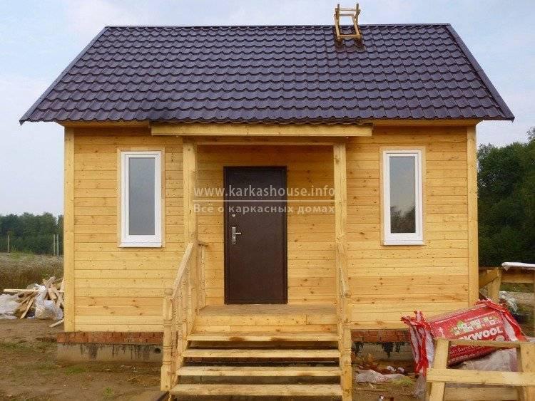 Каркасный дом своими руками: пошаговая инструкция сборки с фото