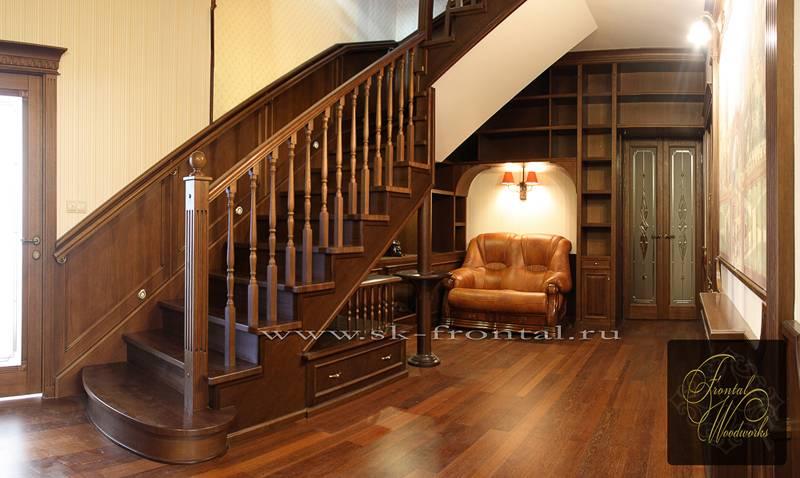 Дизайн лестницы в доме: современные и стильные идеи, варианты, особенности выбора + фото