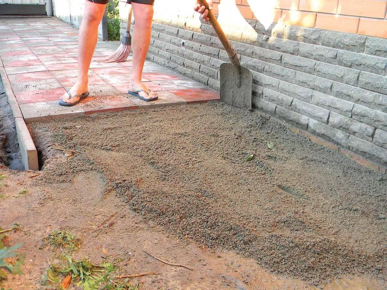 Цементно-песчаный раствор и его технические характеристики: плотность, вес, пропорции, марки, приготовление, состав