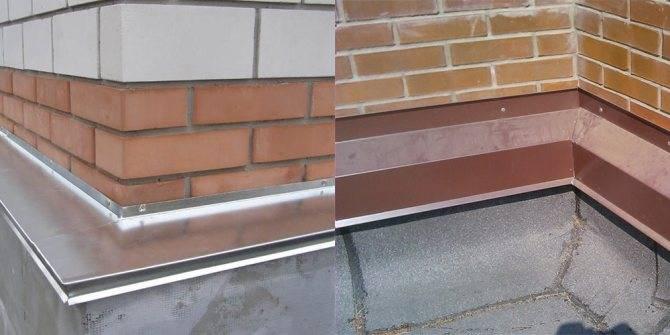 Нужны ли отливы для цоколя фундамента. как правильно крепить отливы на цоколь здания