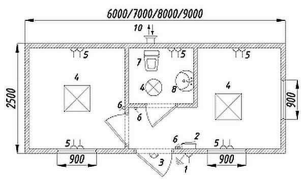 Металлические бытовки своими руками: технология, схема, этапы
