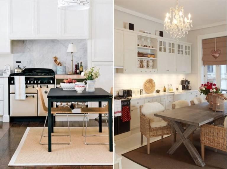 Коврик для кухни на пол: какой можно постелить, чтобы не пачкался