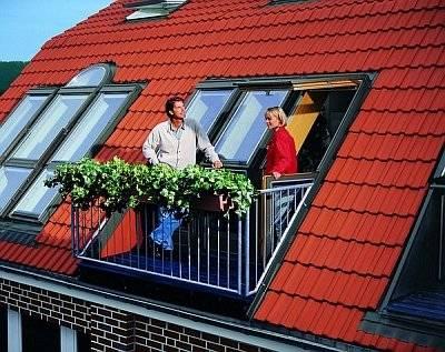 Слуховое окно на крыше — конструкция и чертежи