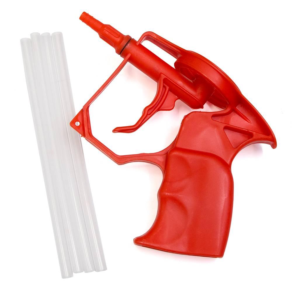 Пистолет для монтажной пены: какой лучше, как пользоваться и очищать после работы
