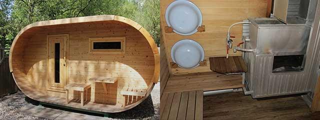 Мини-баня для дачи: как своими руками построить маленькую парную