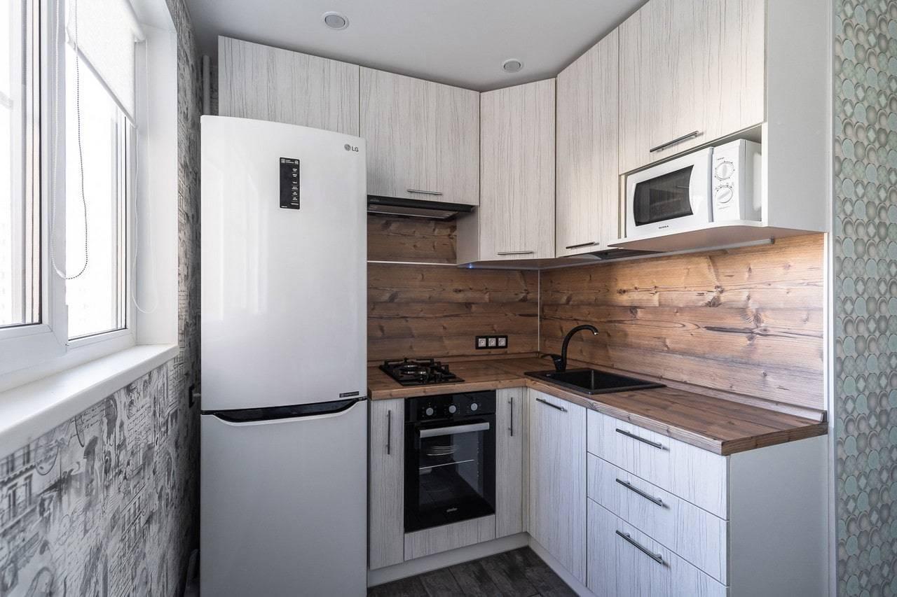 Маленькая кухня в хрущевке: дизайн, фото, основные приёмы оформления