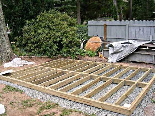 Строительство сараев размером 3 на 4