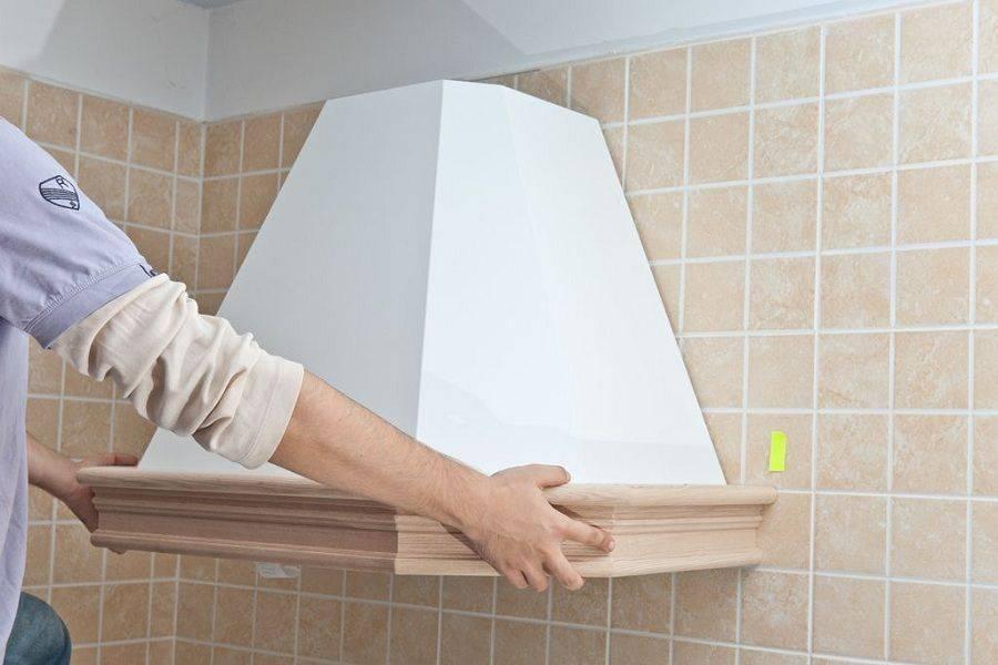 Как своими руками правильно установить и подключить вытяжку на кухне?