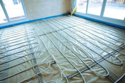 Теплый пол без стяжки: настильные системы (полистирольные и деревянные водяные полы)