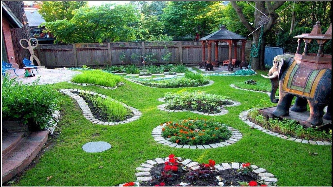Как оформить сад своими руками - (100+ фото) с идеями и инструкциями