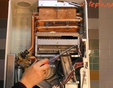 Как почистит газовую колонку от накипи и копоти своими руками