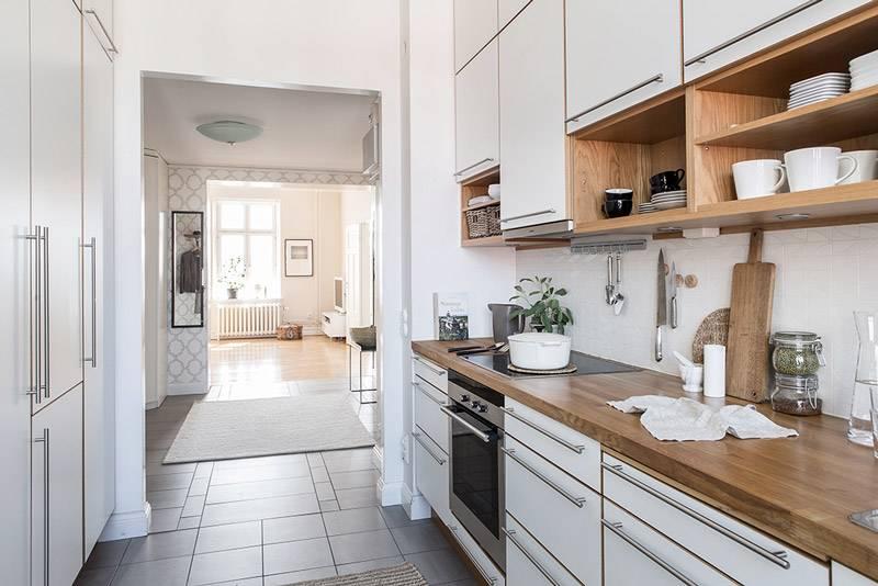 Плитка для кухни на пол: виды, дизайн и советы по выбору
