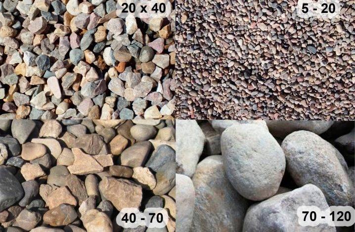 Подушка под фундамент из щебня: разновидности и расчёт