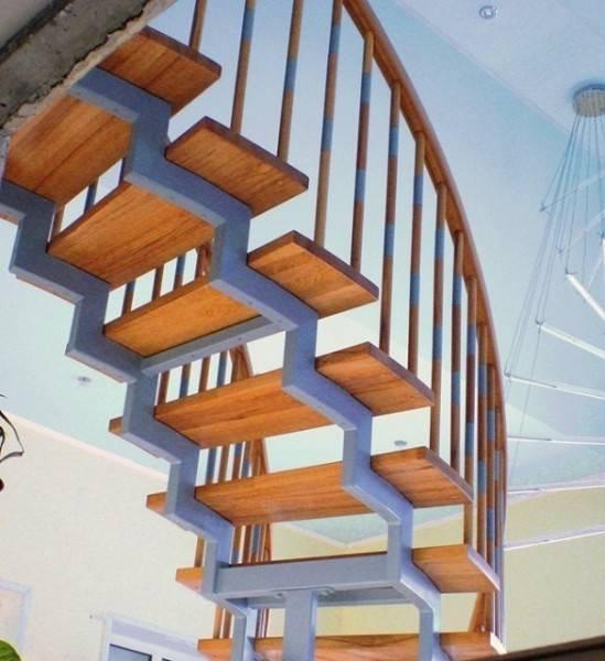 Лестница из металла своими руками на второй этаж: пошаговая инструкция, чертежи + фото
