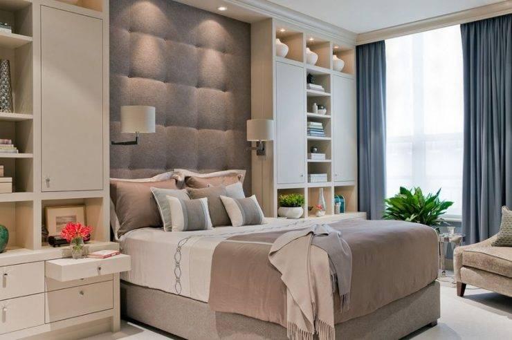 Дизайн спальни 13 кв м – тренды 2018 года в реальных фото