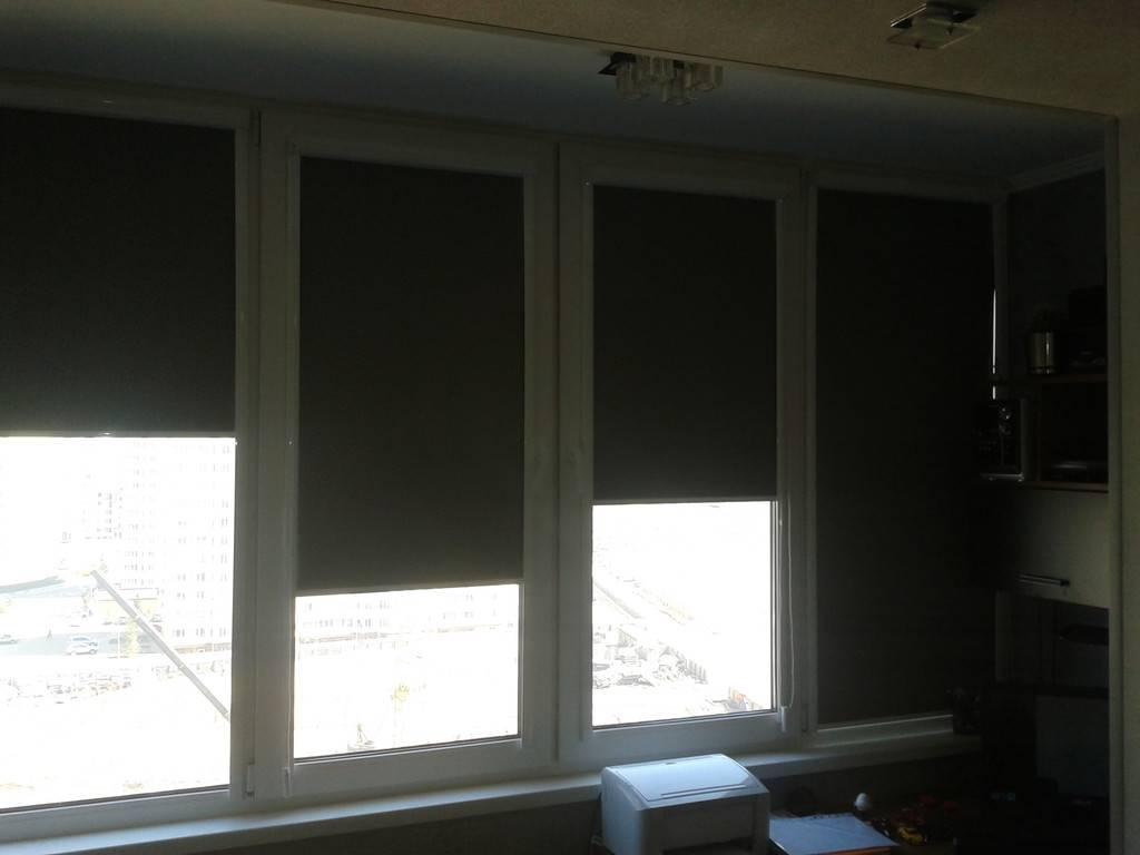 Какие бывают типы рулонных штор: пошаговая инструкция по установке к пластиковому окну, типы креплений