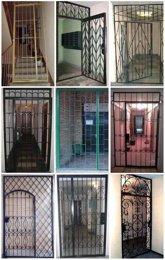 Решетчатые двери: виды и их особенности, применение, изготовление | двери дома