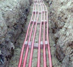Инструкция по прокладке кабеля в земле