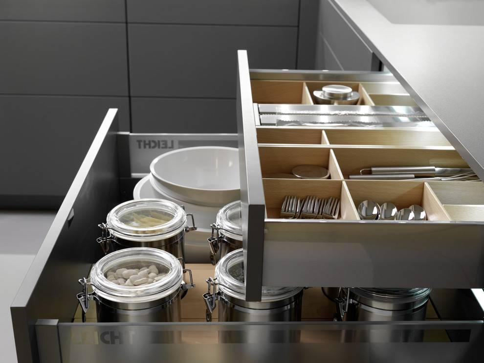 Наполнение кухонных шкафов внутри: организация внутреннего пространства
