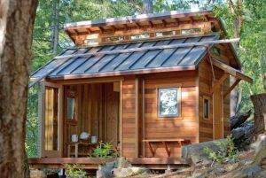 Каркасный дачный домик: как построить самому «под ключ»