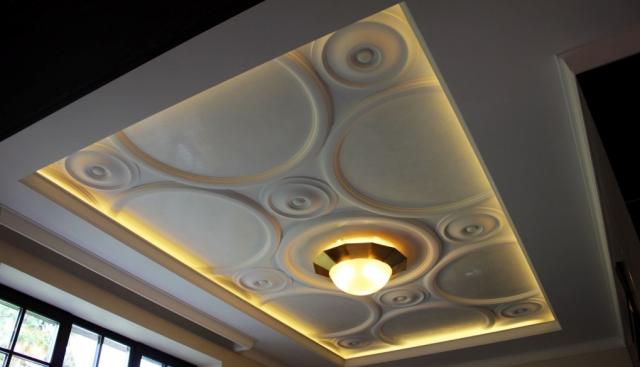 Классическая лепнина для потолка