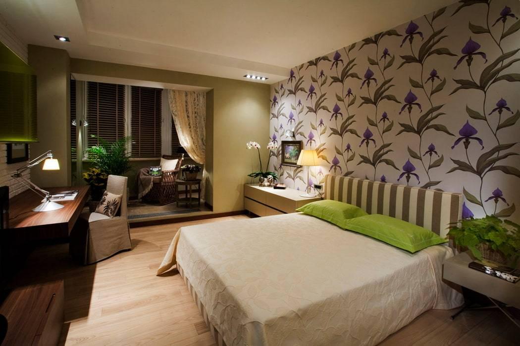 Спальня на балконе: фото дизайна интерьера совмещенной лоджии