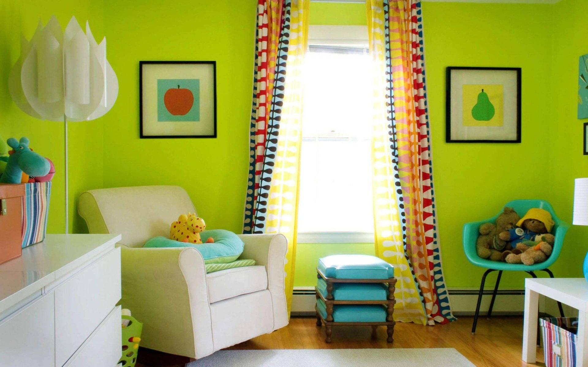 Салатовый цвет в интерьере: 185+ (фото) сочетания в дизайне