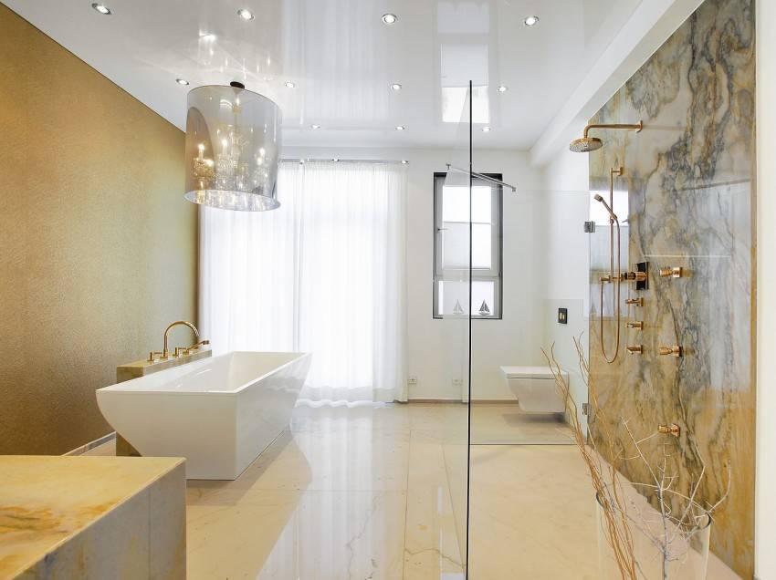 Какой потолок лучше в ванной: какой делать, лучше сделать в ванной комнате, какие делают, из какого материала выбрать потолочное покрытие для ванной