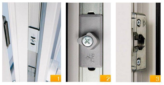 Регулировка пластиковой двери балкона своими руками